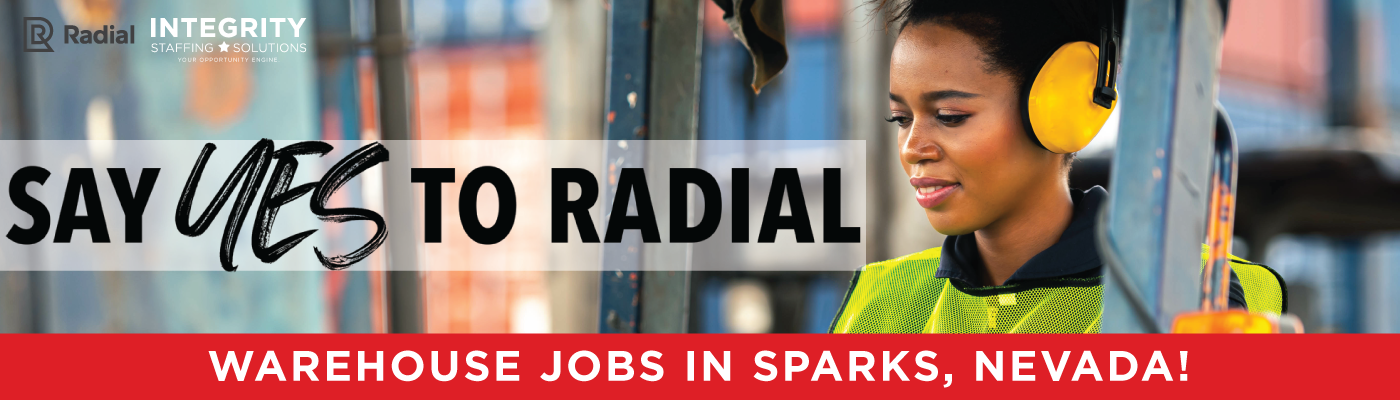 Radial Warehouse Jobs in Sparks NV